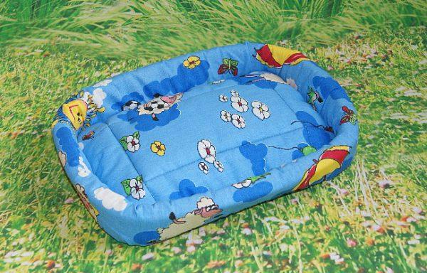Лежак овальный малый 26х18 №01